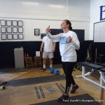 Weight lifting for throwing