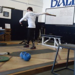 Throws Specific Weight training