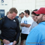 Rutger Smith Signing Autographs