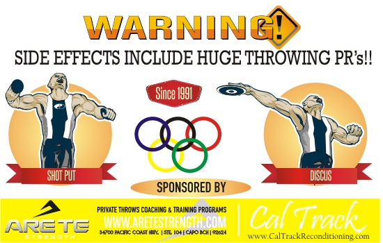 Home Page- Throws Clinic- Shot Put & Discus Clinic
