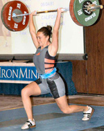 Maryn Ciarelli Olympian Throws clinic- Sponsored by Arete Strength